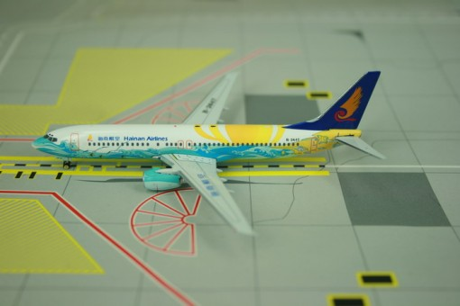 "Sale! Hainan B737-800 ""JKUAI LE HAILANG"" B-2647 Phoenix Scale 1:400"