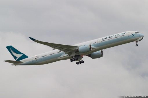 Flaps down Misc Airline Airbus A350-1000 Reg B-LXA EW235K001A 1:200