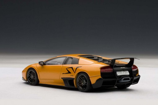 Orange Lamborghini Murcielago LP670-4 SV AUTOart 54627 Die-Cast Model Scale 1:43 (