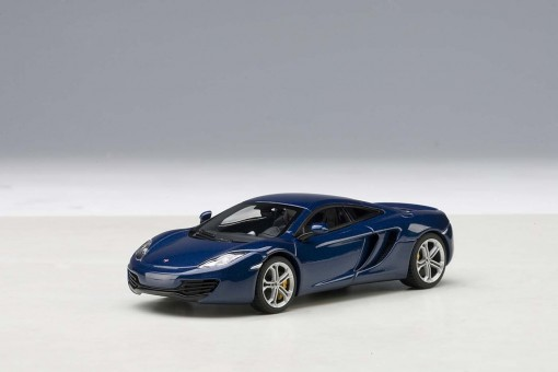 McLaren MP4-12C Azure Blue AUTOart 56004 Die-Cast Model Scale 1:43