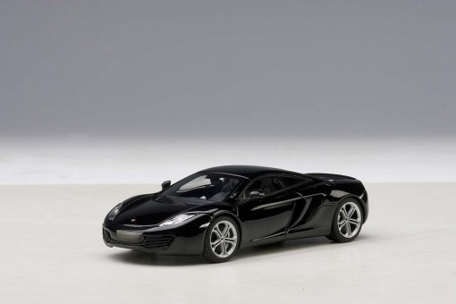 McLaren MP4-12C Black Saphire AUTOart 56005 Die-Cast Model Scale 1:43