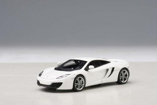 Front McLaren MP4-12C White AUTOart 56009 Die-Cast Model Scale 1:43