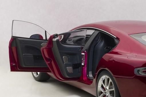 Red Aston Martin Rapide S 2015 Red-Diavolo AUTOart 70257 Scale 1:18