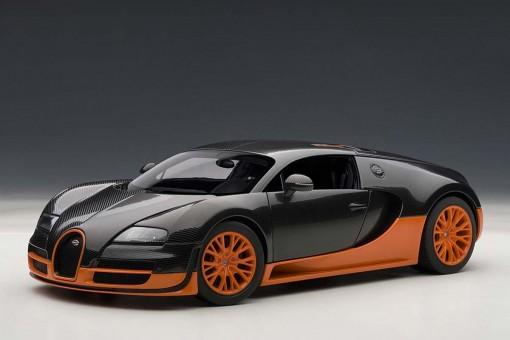Bugatti Veyron Super Sport W/Orange Skirts 70936 AUTOart 1:18