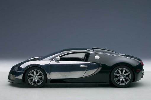 Green/Chrome Bugatti Veyron Centenary Edition AUTOart 70958 Scale 1:18