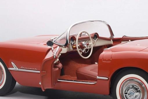 Red Chevrolet Corvette 1954 AUTOart 71082 Die-Cast Scale 1:18