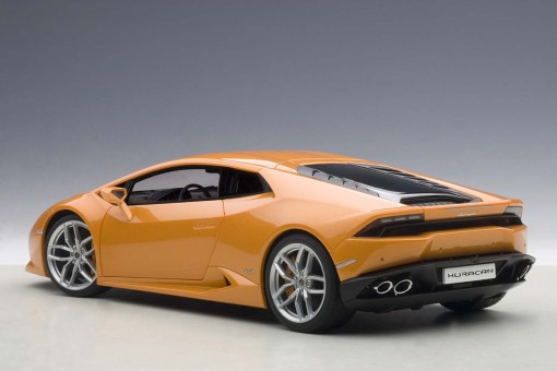 Orange Metalilc Lamborghini Huracan LP610-4 AUTOart 74603 Die-Cast Scale 1:18