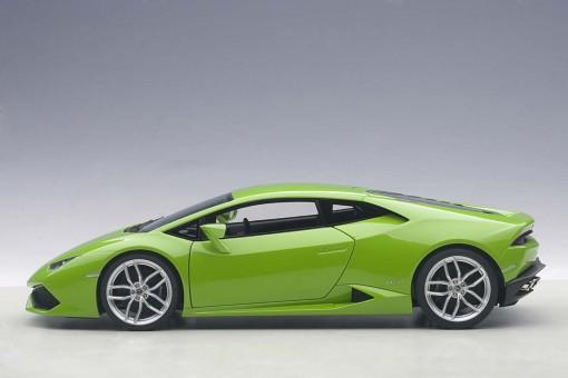 Metalic Green Lamborghini Huracan LP610-4 Die-Cast AUTOart 74605 Scale 1:18