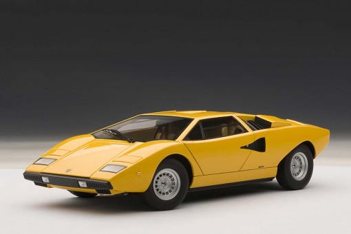 74646	1/18 - Millennium	Lamborghini Countach LP400S, Yellow