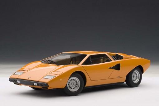 Lamborghini Countach LP400S, Orange 74647