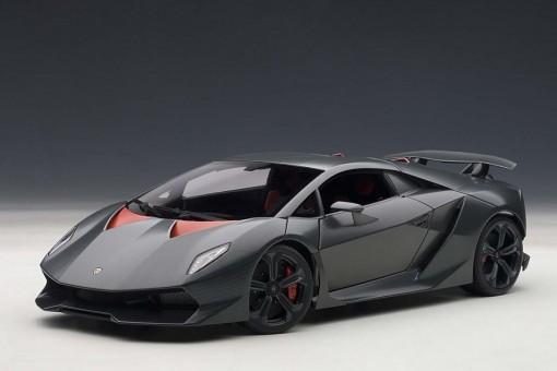 Lamborghini Sesto Elemento Grey Carbon Fiber 74671 AUTOart 1:18