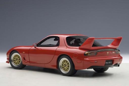 Red Mazda RX-7 FD Tuned Version 75969 AUTOart Die-Cast Scale 1:18
