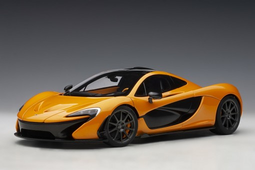 McLaren P1 Papaya Spark die-cast AUTOart Model 76063 scale 1:18