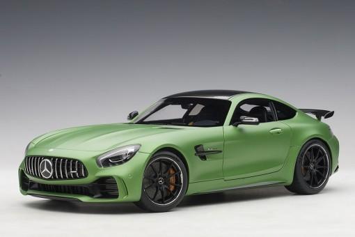 Green Mercedes AMG GT R Green Hell Magno/Matt Metallic Green AUTOart 76333 scale 1:18