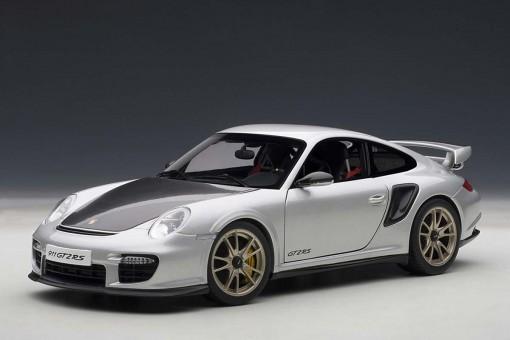 SALE! Porsche 911 (997) GT2 RS Silver 77961 AUTOart 1:18
