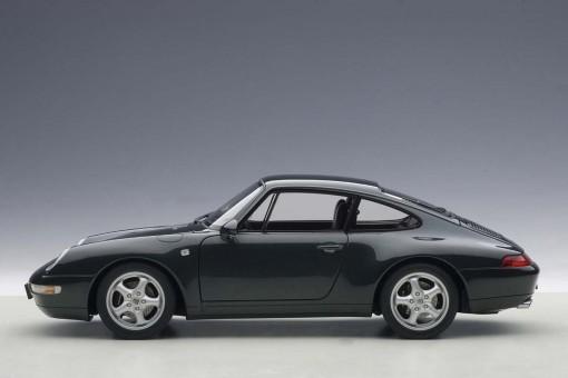 Metallic Green Porsche 933 Carrera 1995 AUTOart 78134 Die-Cast Scale 1:18