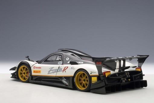 AUTOart die-cast model Pagani Zonda R EVO, Carbon Fiber/White 78271 die-cast model in 1:18 scale,  Item# AU78271
