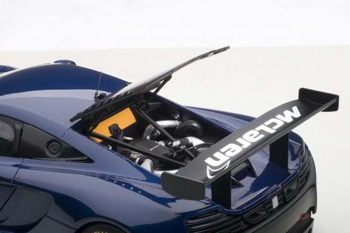 Blue McLaren 12C GT3 Azure Blue AUTOart 81344 AUTOart scale 1:18