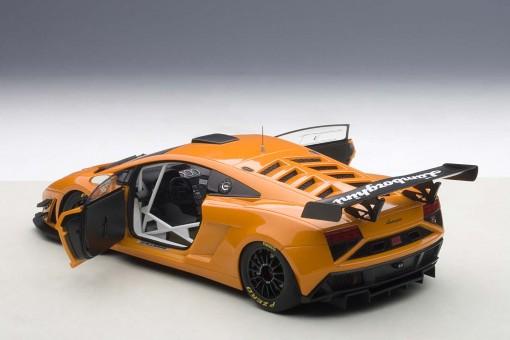 Lamborghini Gallardo GT3 2013 Orange Composite 2 Door AUTOart 81357 AUTOart 1:18