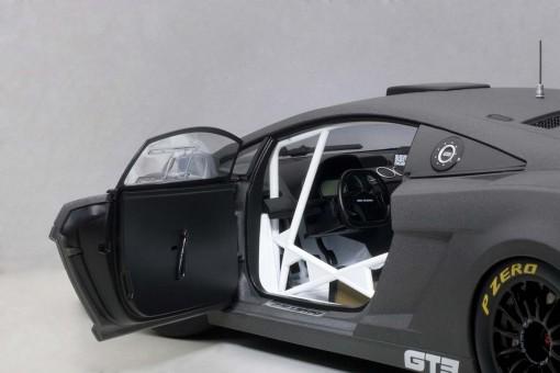 Lamborghini Gallardo GT3 2013 Dark Gre7 Composite 2 Door AUTOart 81360 AUTOart 1:18