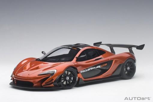 Volcano Orange McLaren P1 GTR die-cast AUTOart 81545 scale 1:18