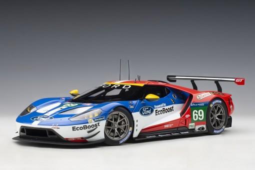 Ford GT Le Mans 2016 R.Brisoe/S.Dixon/R.Westbrook #69 AUTOart 81612 die-cast model scale 1:18