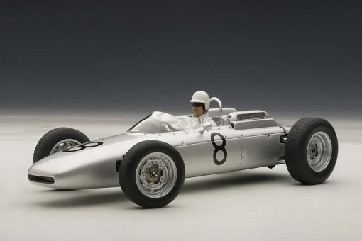 Porsche 804 Formula 1 1962 #8 Jo Bonnier Nurburgring 1962 w/driver figure, LE 1,000 pcs 86274 AUTOart 1:18