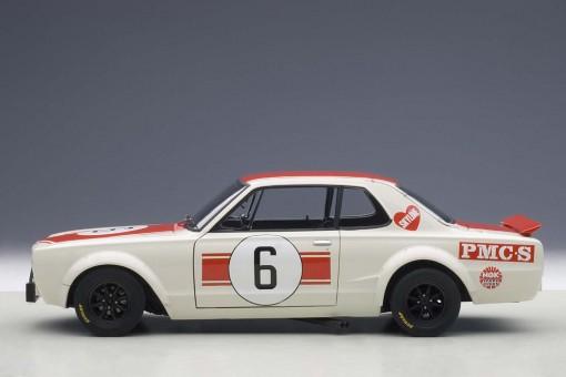 Nissan Skyline GT-R Racing #6 1971 Japan GP Winner AUTOart 87176 1:18