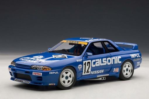 Nissan Skyline GT-R (R32) #12 Blue Calsonic, Limited AUTOart 89079 1:18