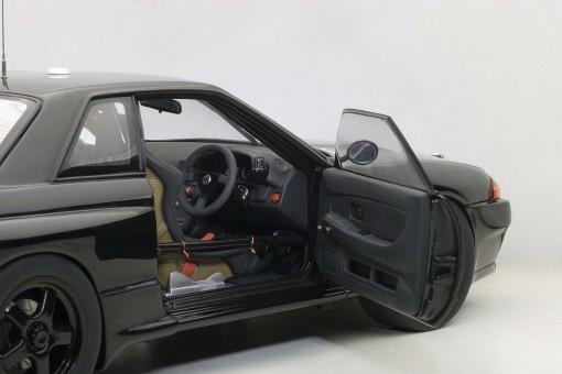 Black Nissan Skyline GT-R R32 Australian Bathurst 1992 AUTOart 89280 Die-Cast Scale 1:18