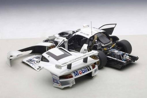 Porsche 911 GT1 24Hrs LeMans 1997 #26 Collard/Kelleners/Dalmas AUTOart 89773 1:18