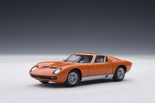 Autoart 1 43 Scale Lamborghini Miura Sv Orange With Openings