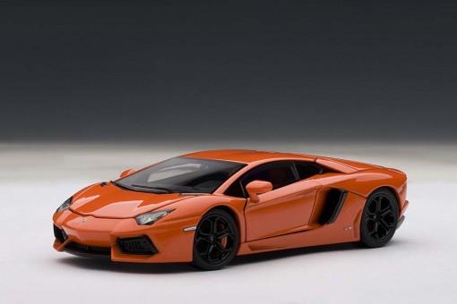 SALE! Lamborghini Aventador LP700-4 Metallic Orange 54647 AUTOart scale 1:43