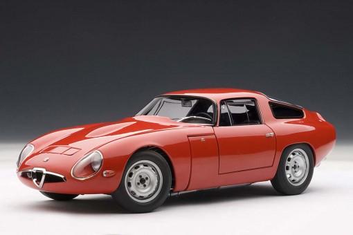 Alfa-Romeo TZ 1963, Red AU70196