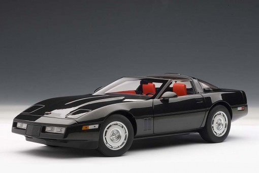 Sale! Chevrolet Corvette 1986, Black diecast AUTOart 71242 scale 1:18