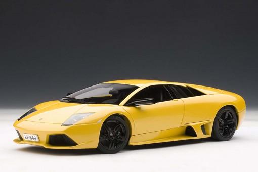 Autoart 1 18 Scale Lamborghini Murcielago Lp640 Giallo Orion Yellow