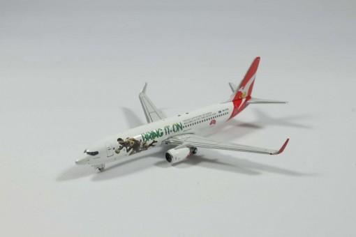 Qantas B737-800 Reg# VH-VXG 'Bring it On Rugby' GJQFA1301 1:400