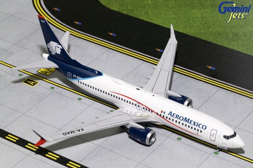 AeroMexico Boeing B737 Max 8 XA-MAG Gemini Jets G2AMX708 scale 1:200