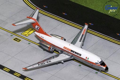 Aeromexico DC-9-15 Polished XA-DEV Gemini 200 G2AMX315 scale 1:200