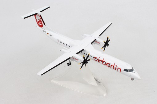 "Air Berlin Bombardier Q400 D-ABQQ ""Albino"" livery Herpa 559355 scale 1:200"