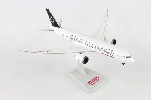 Air India Star Alliance Boeing 787-8 VT-ANU gears & stand HG10277G 1-200