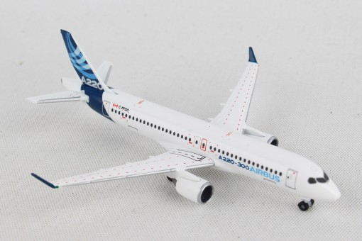 Airbus House Colors A220-300  (Bombardier CS300) Herpa die cast HE532822 scale 1:500