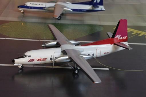 Airwest Fairchild F-27 N2706 Aeroclassics-Western AC219457 1200