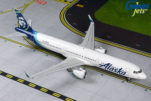 Alaska Airlines Airbus A321neo N928VA Gemini G2ASA835 Scale 1:200
