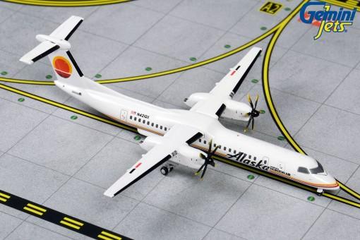 Alaska Bombardier Dash 8Q-400 Horizon Retro N421QX Gemini GJASA1879 scale 1:400
