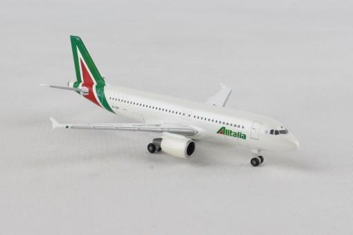"""Alitalia Airbus A320 """"Primo Levi"""" EI-DSV Herpa 531542 scale 1:500"""