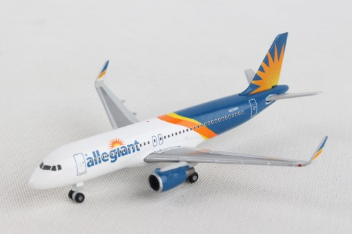 Allegiant Airbus A320  N256NV Herpa Wings die cast 533140 scale 1-500