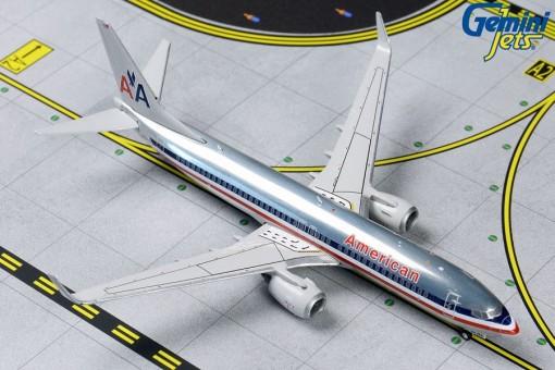 American Airlines Boeing 737-800 N921NN Polished Retro Gemini jets GJAAL1802 Scale 1:400