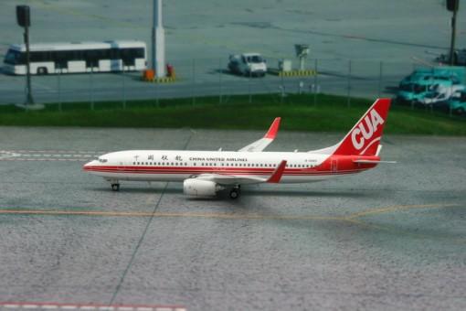 China United Airlines 737-800 Reg# B-5665 Phoenix 11080 Scale 1:400