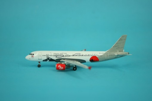 Air Asia Hats Off You! Airbus Industries A320-200